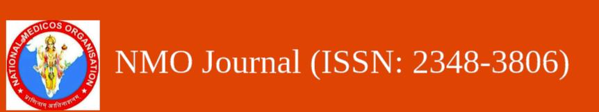 NMO JOURNAL WEBSITE LAUNCH     13 Nov. 2020  Dhanvantri Jayanti